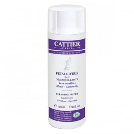 Cattier Eau démaquillante pétale d'Iris 150 ml