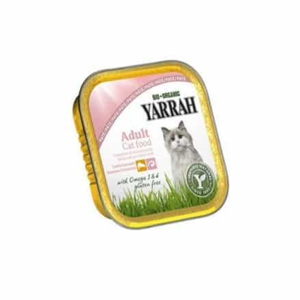 Pâté Saumon & Algues marines pour Chat Barquette