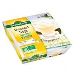 Dessert soja vanille