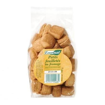 Evernat Petits Feuilletés au Fromage 100 g de Evernat