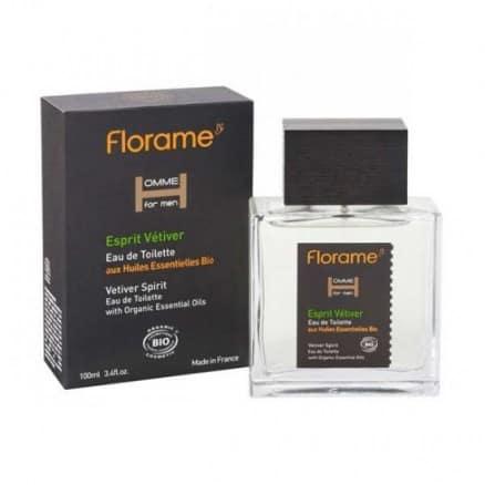 Florame Eau de Toilette Homme Vétiver 100 ml