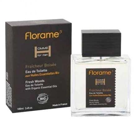 Florame Eau de Toilette Homme Fraîcheur Boisé 100 ml