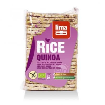 Lima Galette Fines Riz Quinoa 130 g