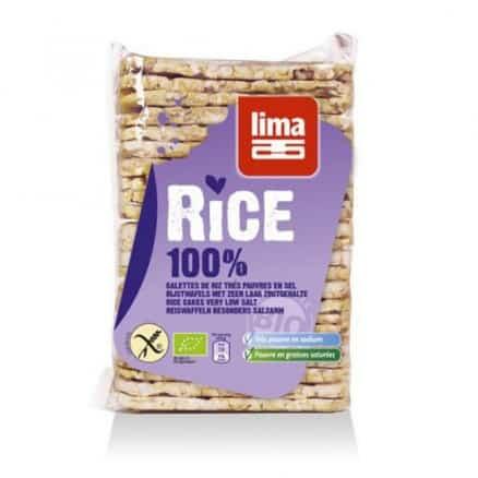 Galettes fines de riz sans sel