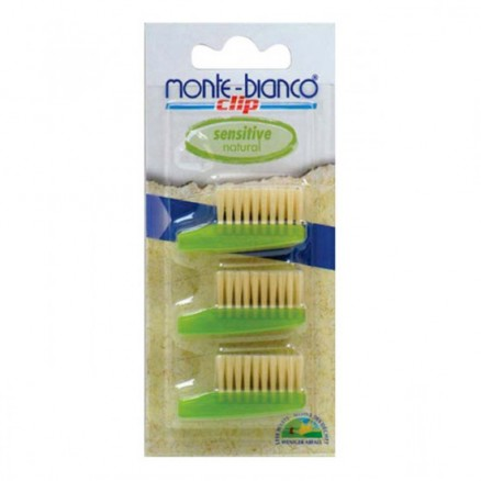 Recharge brosse à dents soie naturelle sensitive