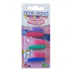 Recharge brosse à dents nylon Junior Soft
