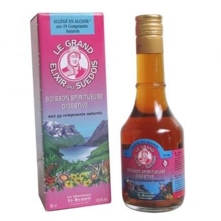 Le Grand Elixir du Suédois Allégé en Alcool