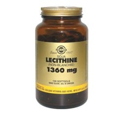 Lécithine de Soja Non Blanchie 1360 mg