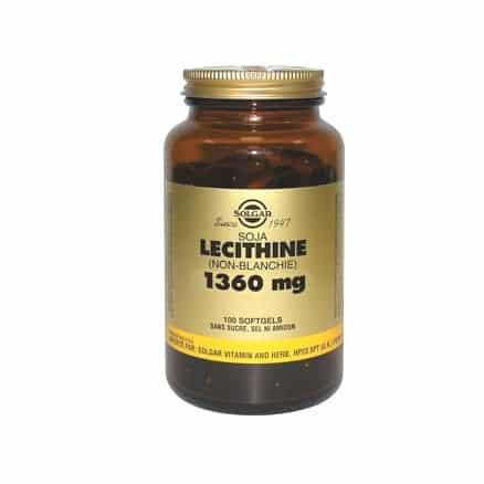 Lécithine de Soja Non Blanchie 1360 mg