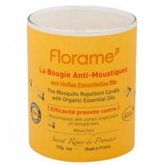 Bougie anti-moustique 100% origine naturelle