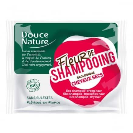 Douce nature Fleur de shampooing cheveux secs 85 g