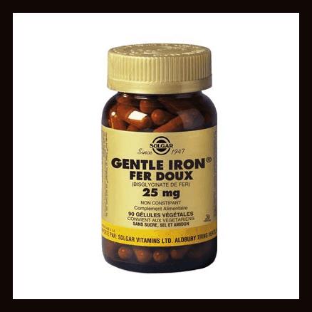 Gentle Iron Fer doux 25 mg
