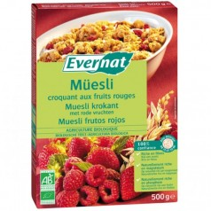 Müesli Croquant aux Fruits Rouges