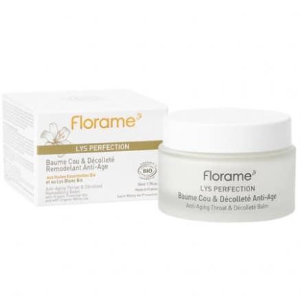 Florame Baume Cou & Décolleté Remodelant Anti-Âge Lys Perfection 50 ml