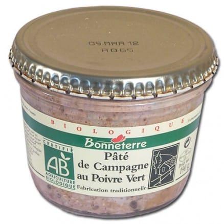 Bonneterre Pâté Campagne Poivre Vert 190 g