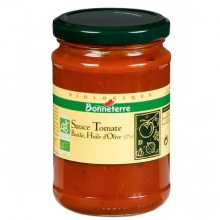Sauce tomate huile d'olive Basilic