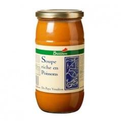 Soupe Riche en Poisson
