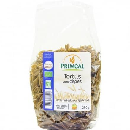 Tortils aux cèpes