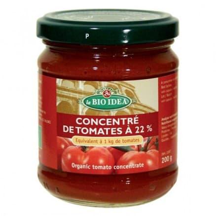 Bio Idea Concentré de Tomates 22% 200 g de Bio Idea