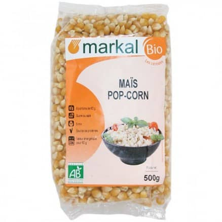 Maïs pop corn à éclater