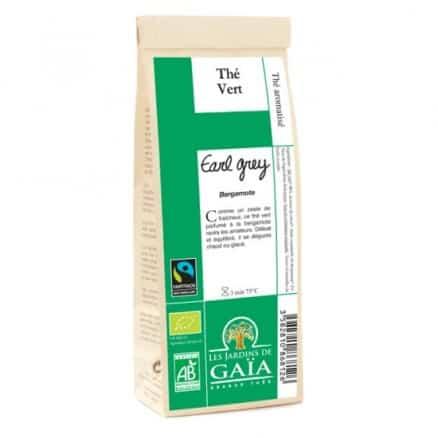 "Thé vert Earl Grey ""Bergamote"""