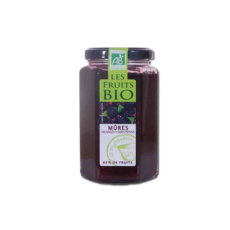 Confiture de m res sauvages 300 g les fruits bio - Confiture de mures sauvages maison ...