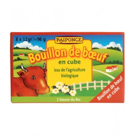 Bouillon de boeuf en cube