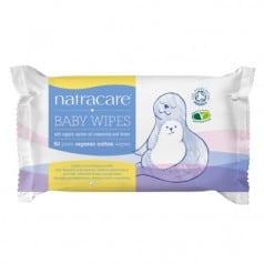 Lingettes en coton pour bébé