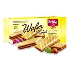 """Gaufrette à la noisette sans gluten """"Wafer"""""""