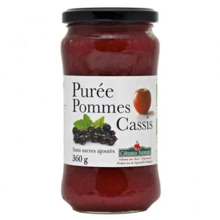 Purée Pomme Cassis