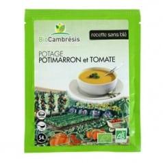 Potage Potimarron et Tomate
