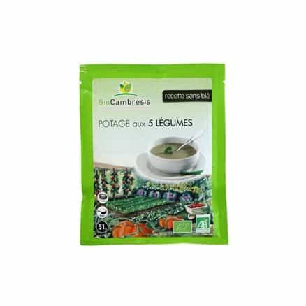 Bio Cambresis Potage 5 Légumes 51 g
