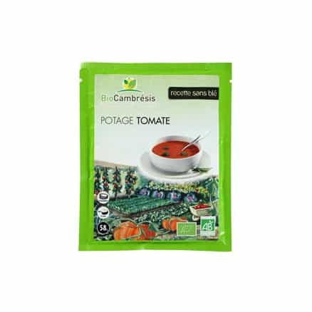 Bio Cambresis Potage Tomate 58 g