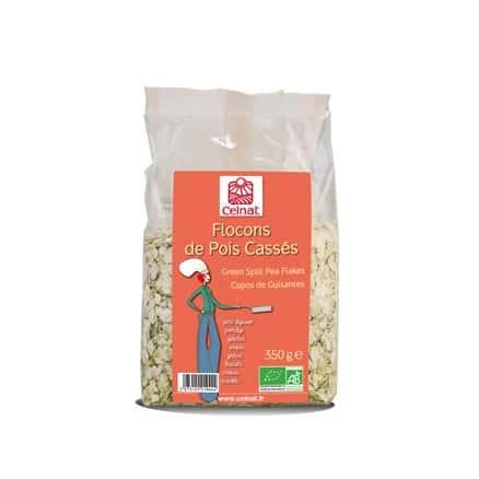 Celnat Flocons de Pois Cassés 350 g