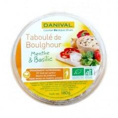 Taboulé de Boulghour Menthe et basilic