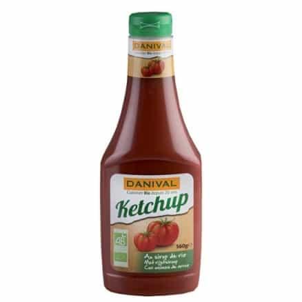 Ketchup au sirop de riz