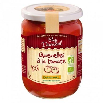 Quenelles sauce tomate