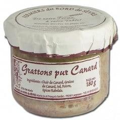 Grattons pur canard