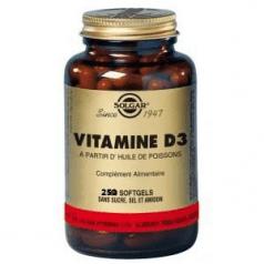 Vitamine D3 400 UI élules