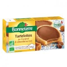 Tartelettes caramel & chocolat au lait