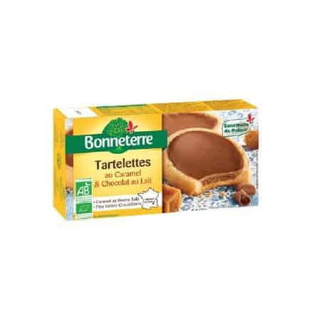 Bonneterre Tartelettes Caramel & Chocolat au Lait 125 g
