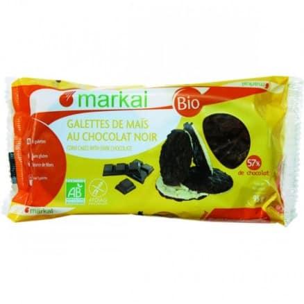 Galettes de maïs au chocolat noir