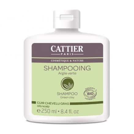 Shampooing cheveux gras argile verte