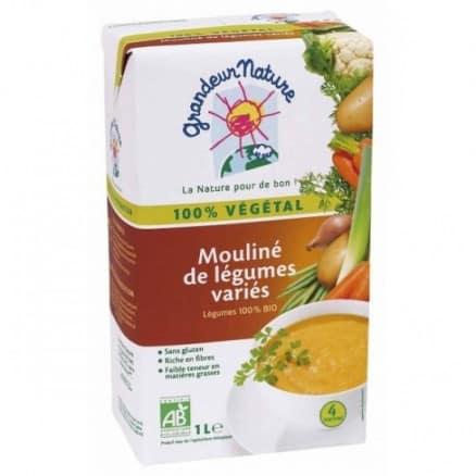 Mouliné de légumes variés 100% végétal