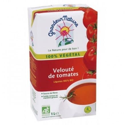 Velouté de tomates 100% végétal