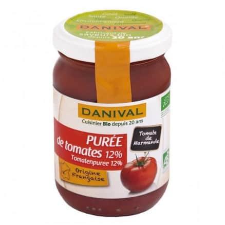 Concentré de purée de tomates 12%