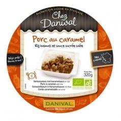 Porc au Caramel Riz Basmati & Sauce Sucrée Salée