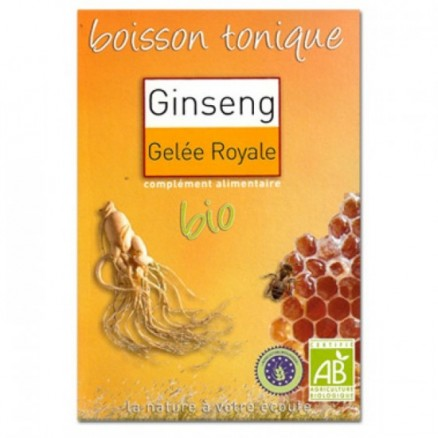 Boisson tonique Ginseng & Gelée royale