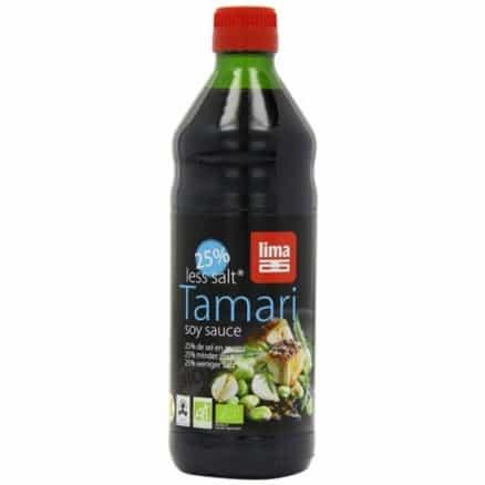 Tamari 25% de Sel en Moins