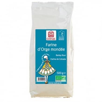 Celnat Farine d'Orge Mondée 500 g